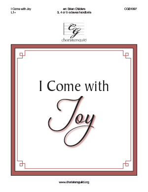 I Come with Joy