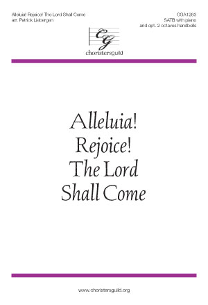Alleluia! Rejoice! The Lord Shall Come Accompaniment Track