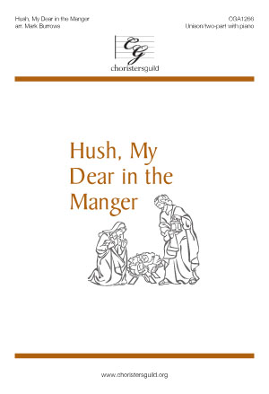 Hush, My Dear in the Manger Accompaniment Track
