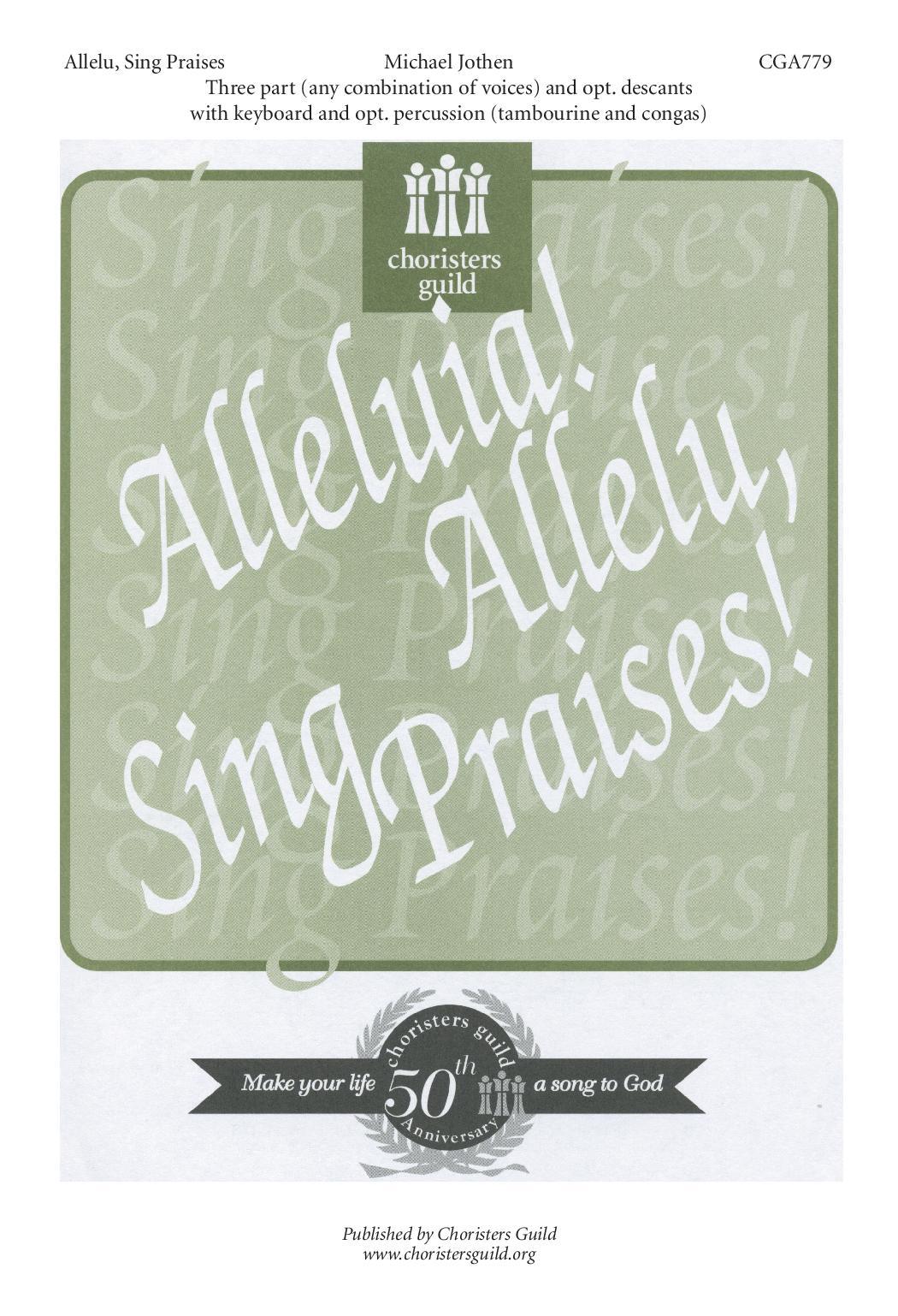 Allelu, Sing Praises