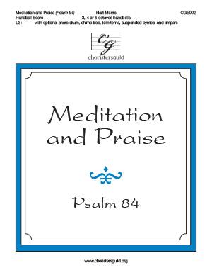 Meditation and Praise  - Handbell Score