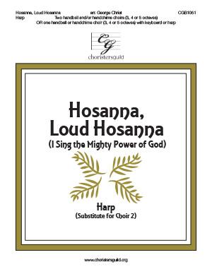 Hosanna Loud Hosanna - Harp Score
