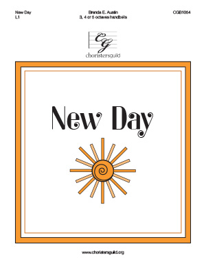 New Day (3, 4 or 5 octaves)