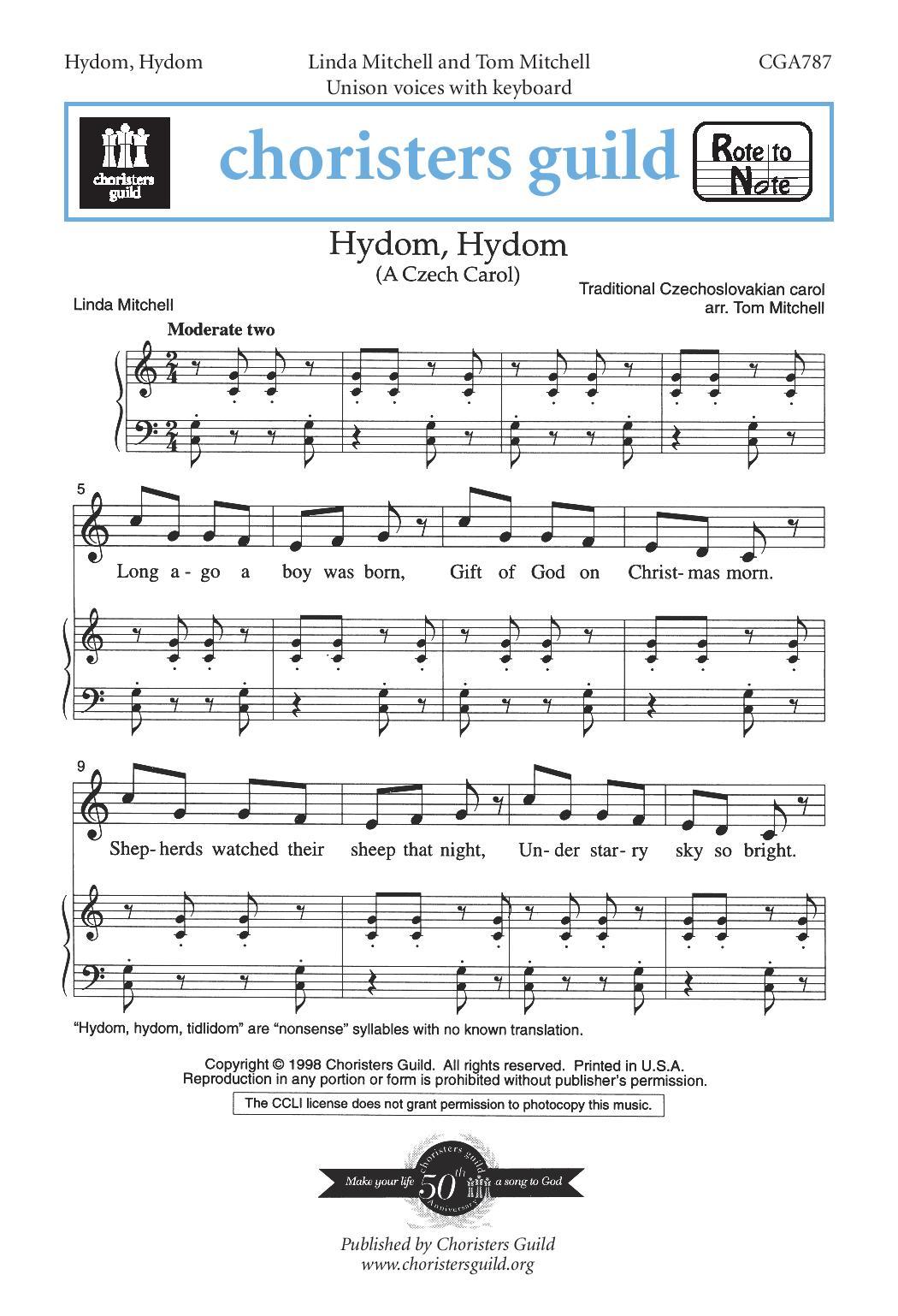 Hydom, Hydom A Czech Carol