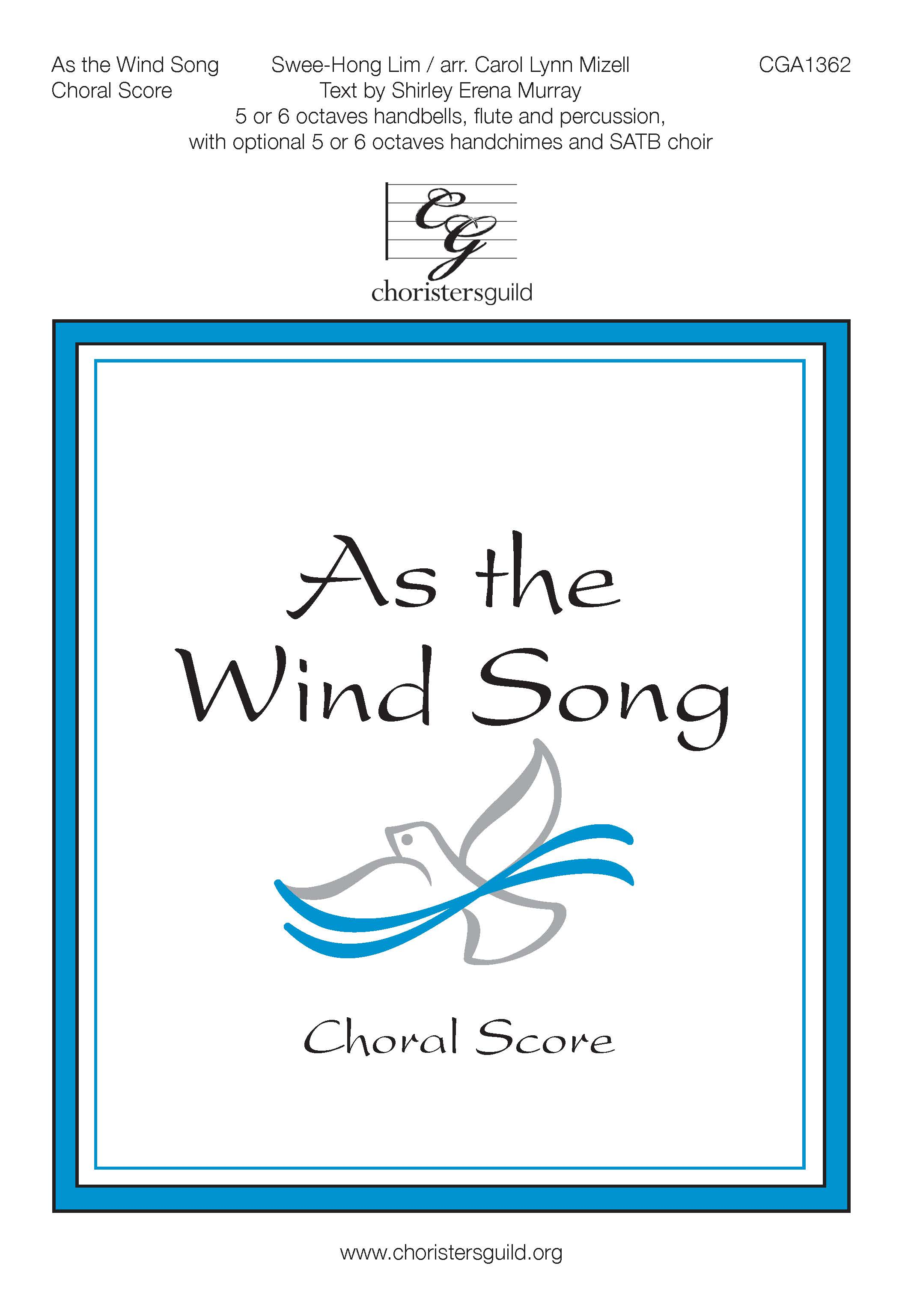 As the Wind Song - Accompaniment Track