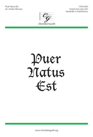 Puer Natus Est (Accompaniment Track)