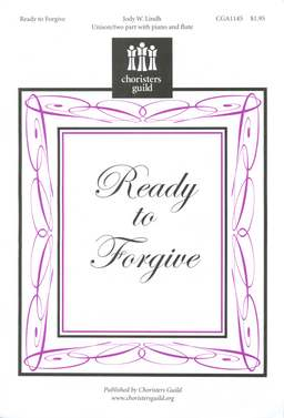Ready to Forgive (Audio Download)