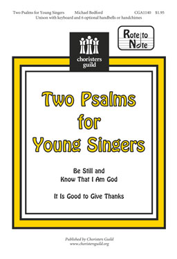 Two Psalms for Young Singers (Audio Download)