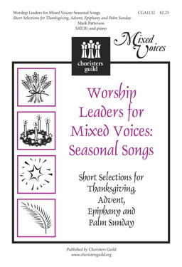 Worship Leaders for Mixed Voices: Seasonal Songs SATB (Accompaniment Track)