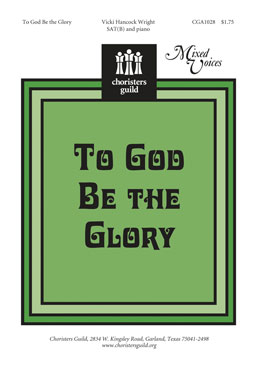 To God Be the Glory (Audio Download)