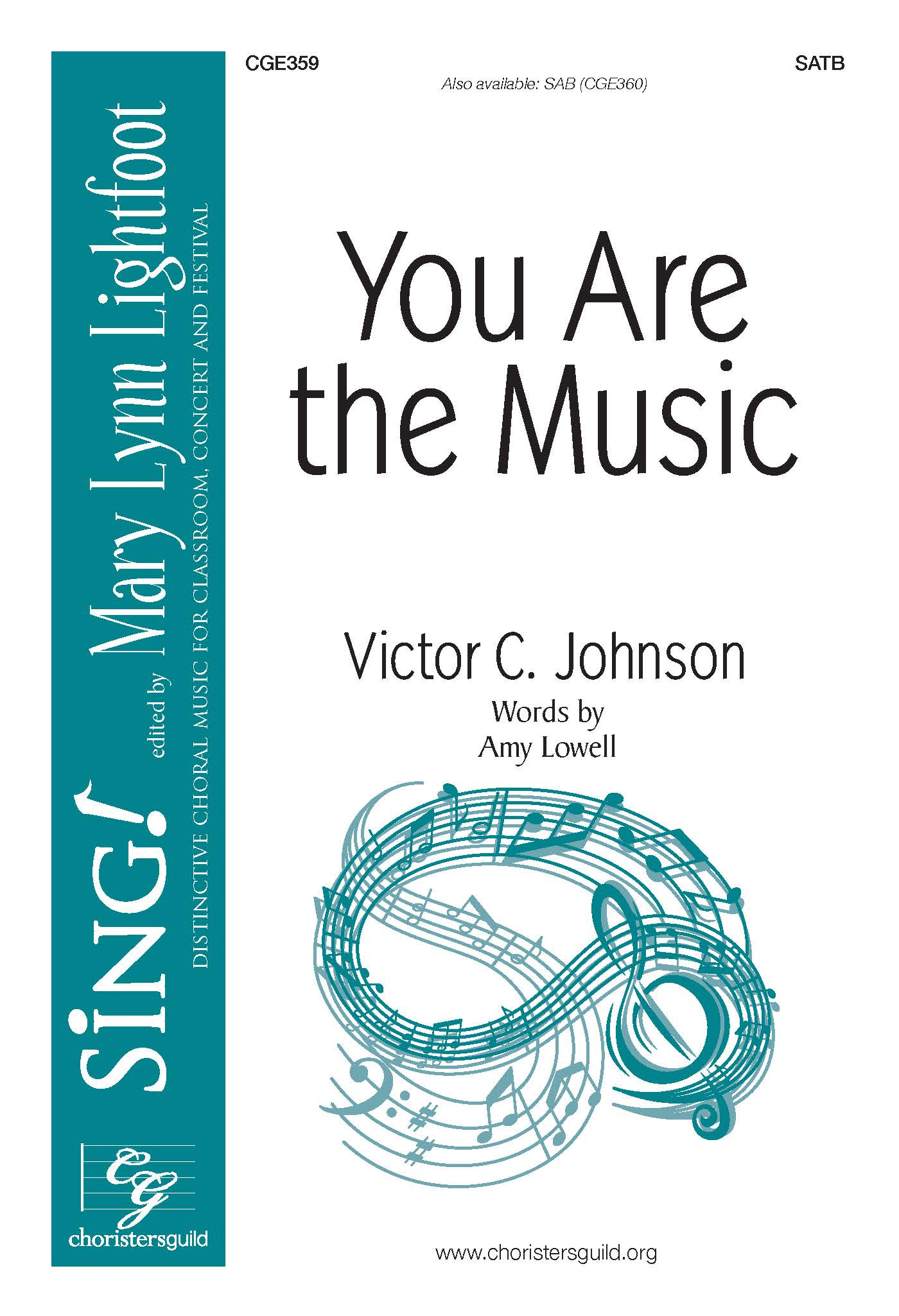 You Are the Music - SATB