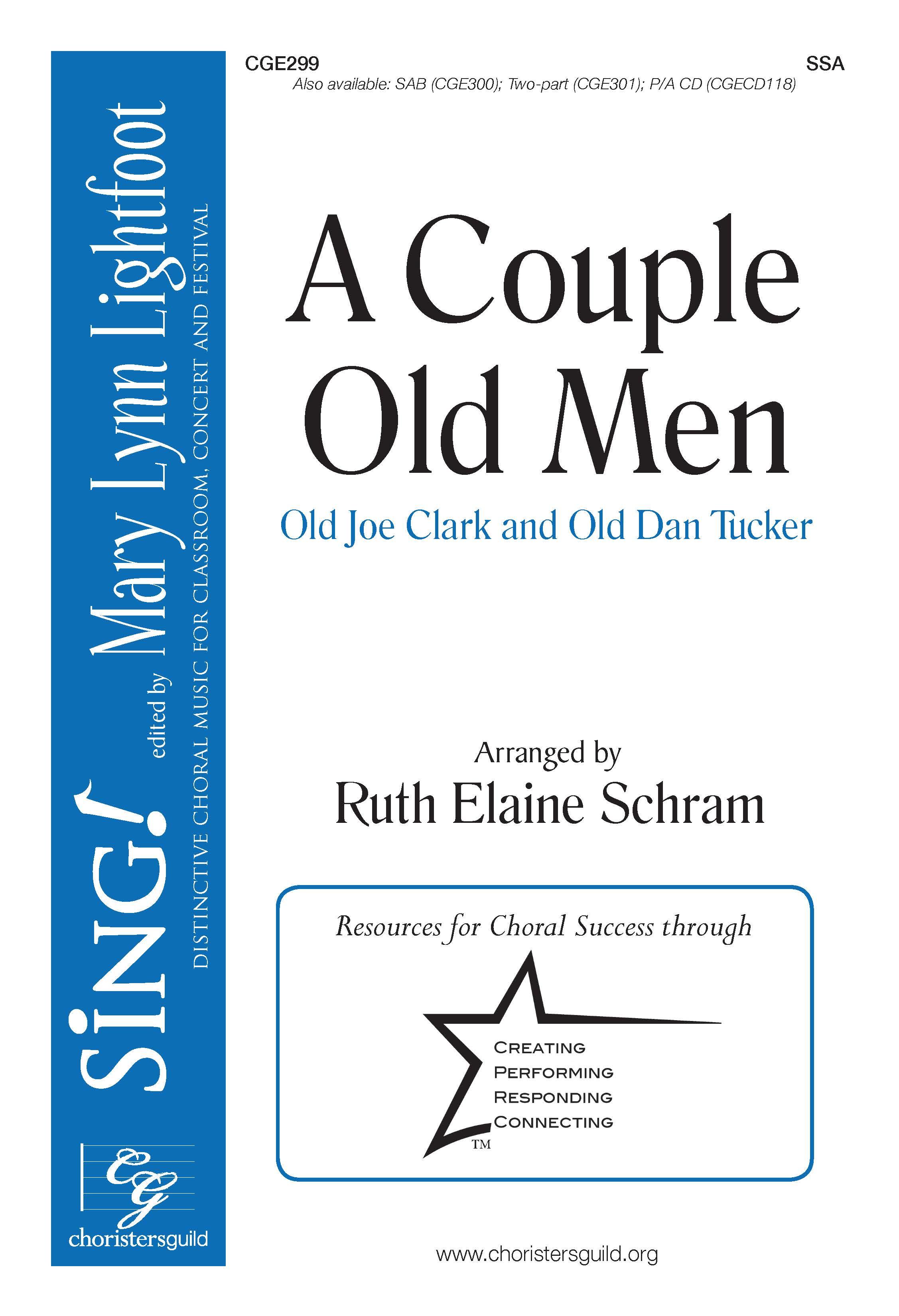 A Couple Old Men - SSA