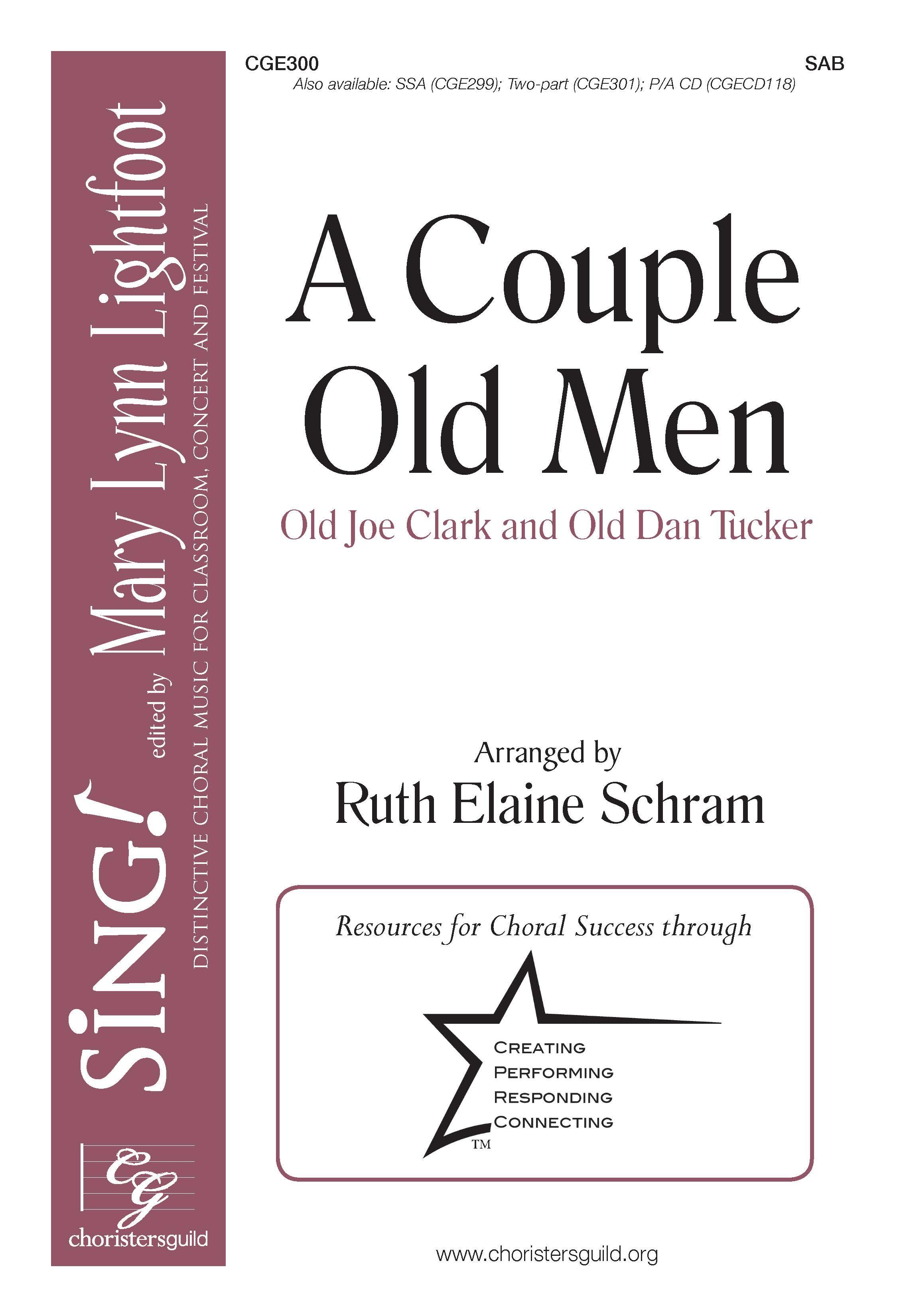 A Couple Old Men - SAB