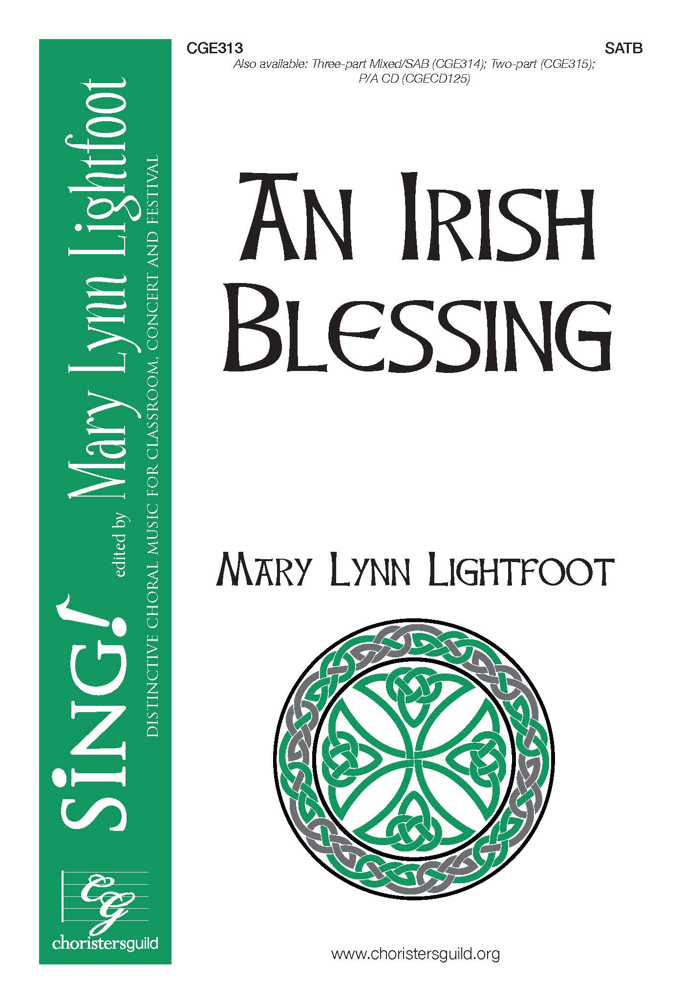 An Irish Blessing - SATB