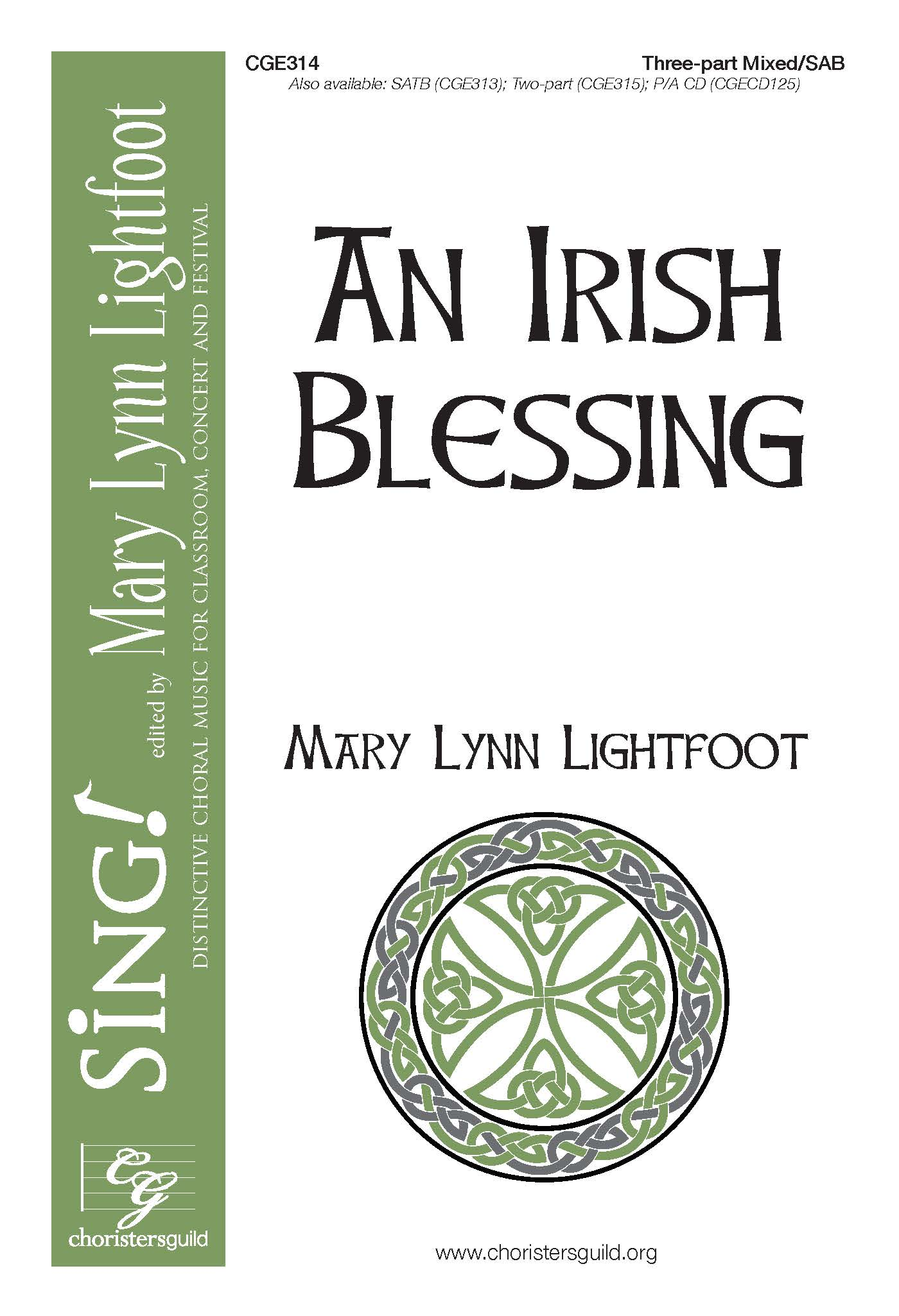 An Irish Blessing - Three-part Mixed/SAB