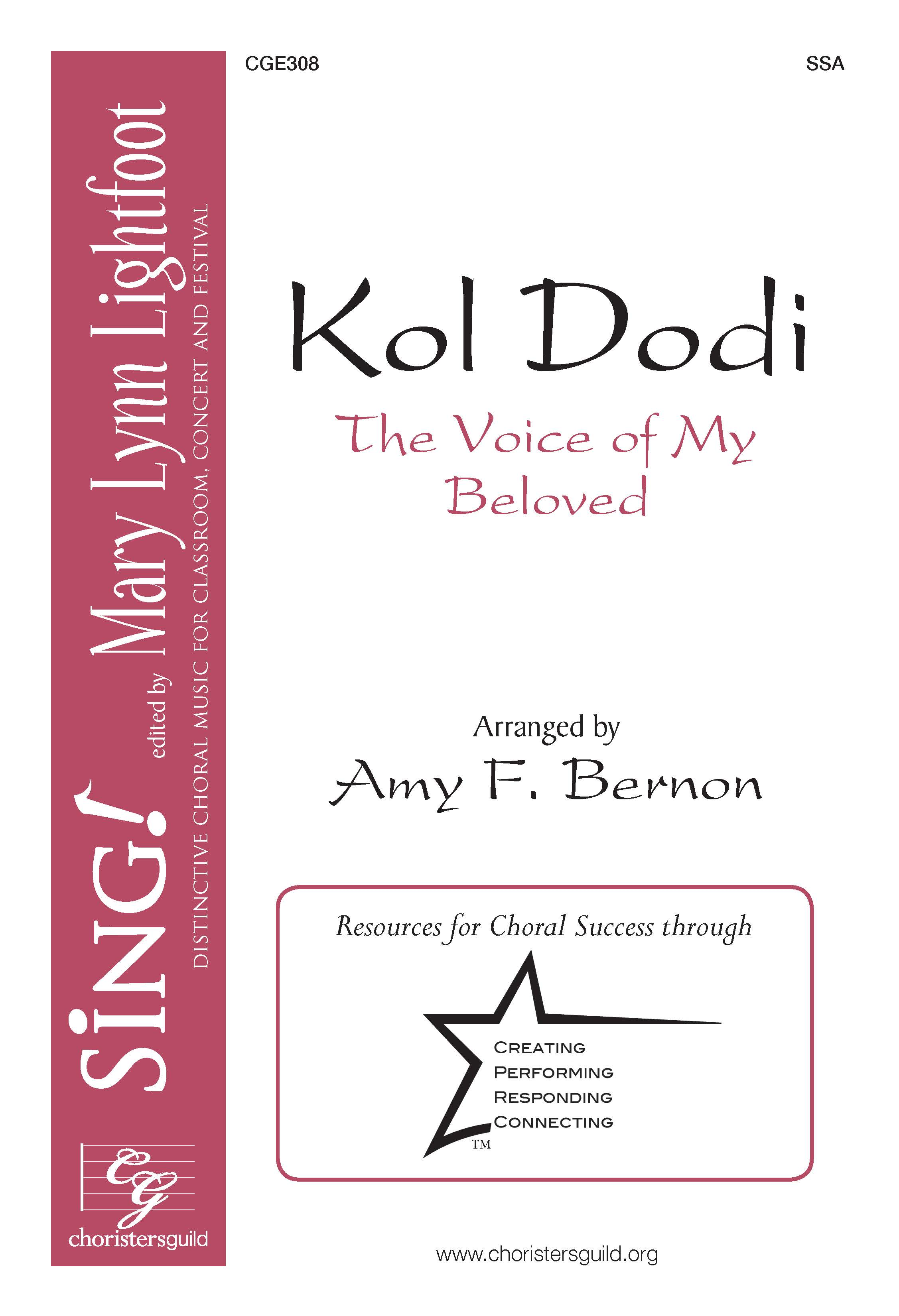 Kol Dodi (The Voice of My Beloved) SSA