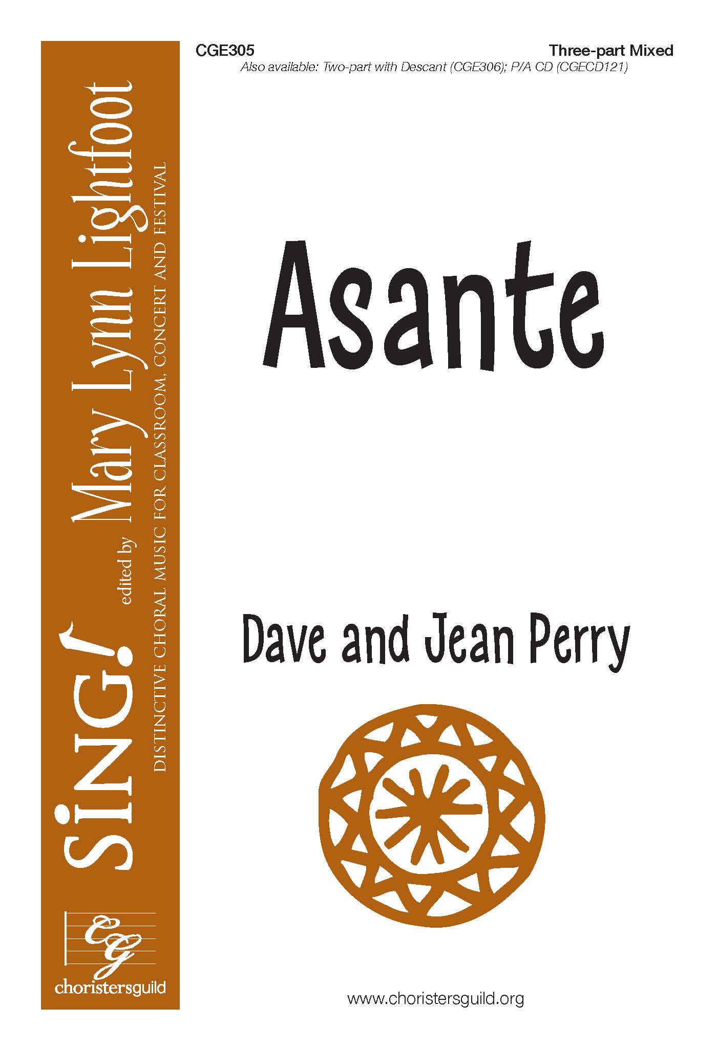 Asante - Three-part Mixed
