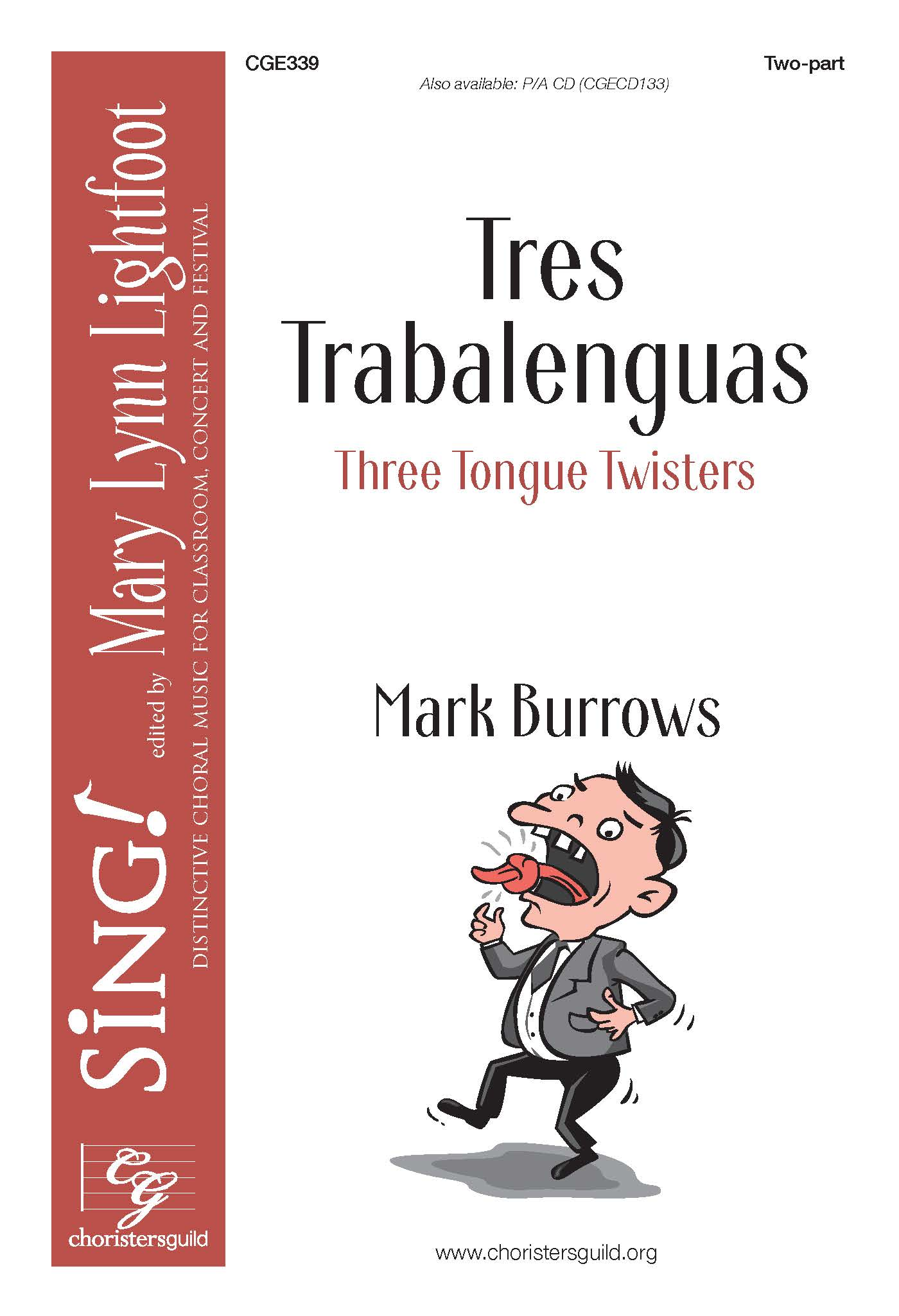 Tres Trabalenguas (Three Tongue Twisters) Two-part