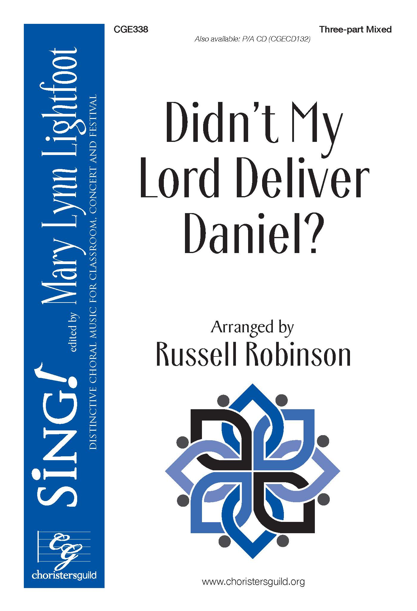 Didn't My Lord Deliver Daniel? Three-part Mixed