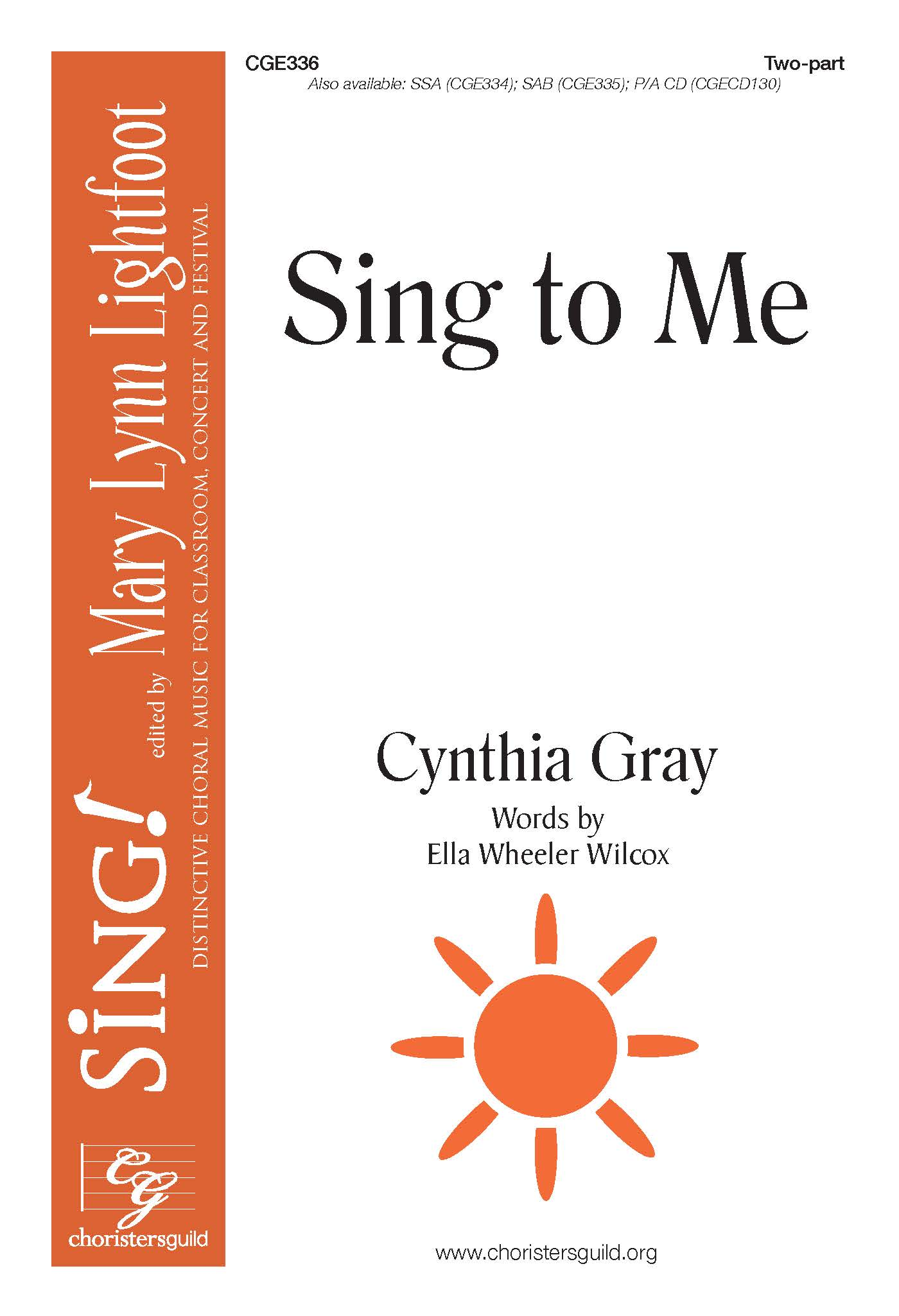 Sing to Me - Two-part