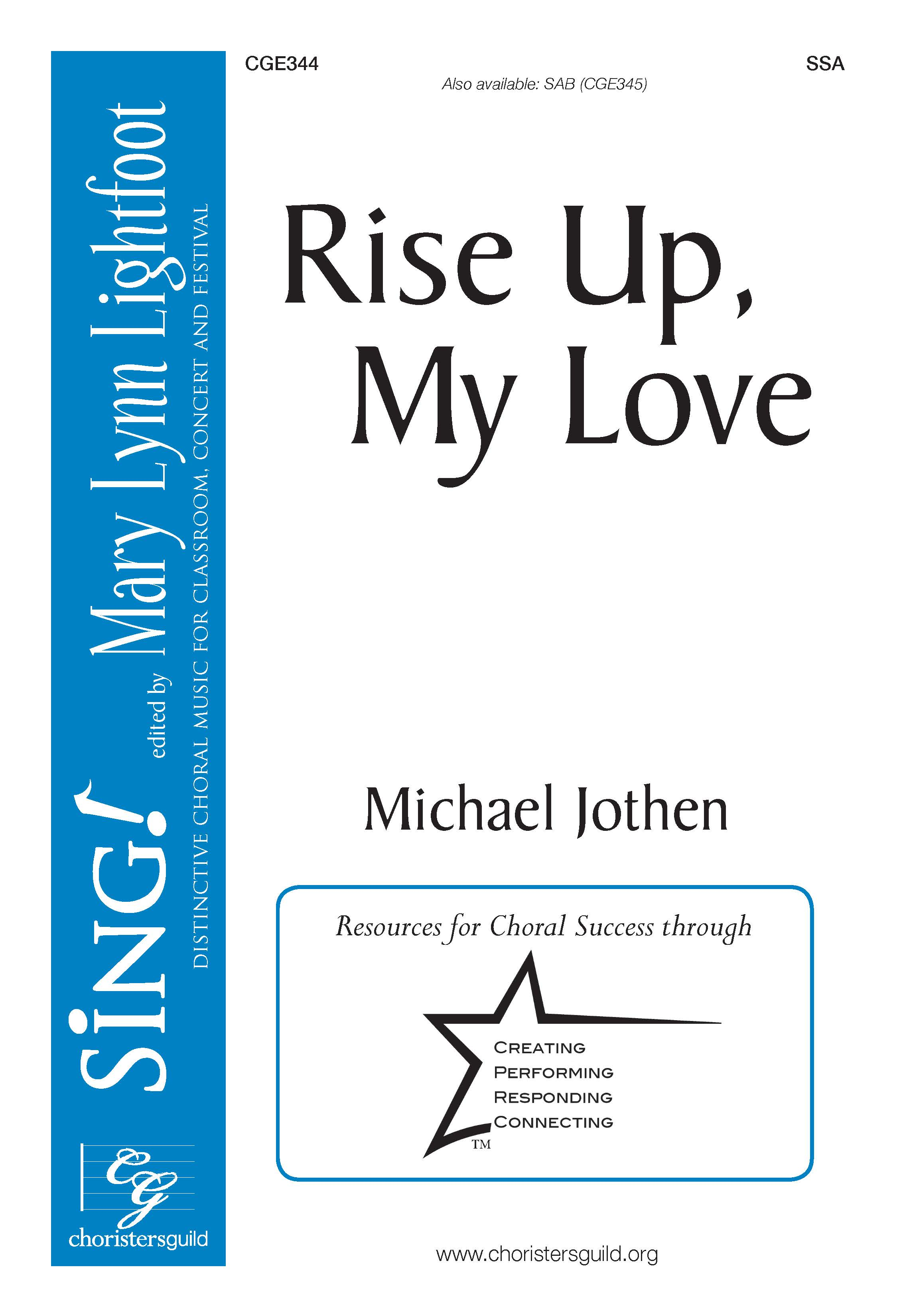 Rise Up, My Love - SSA