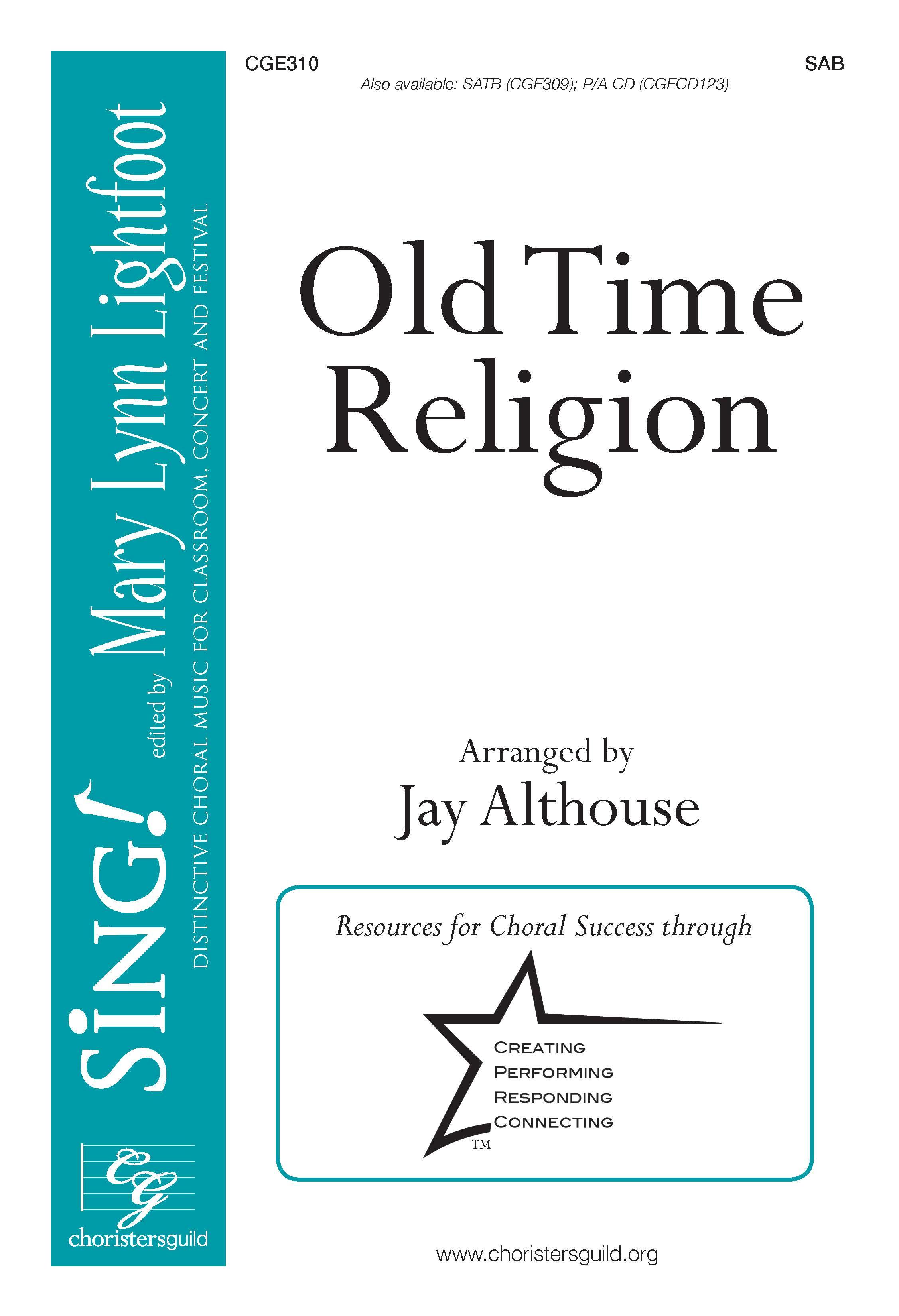 Old Time Religion - SAB