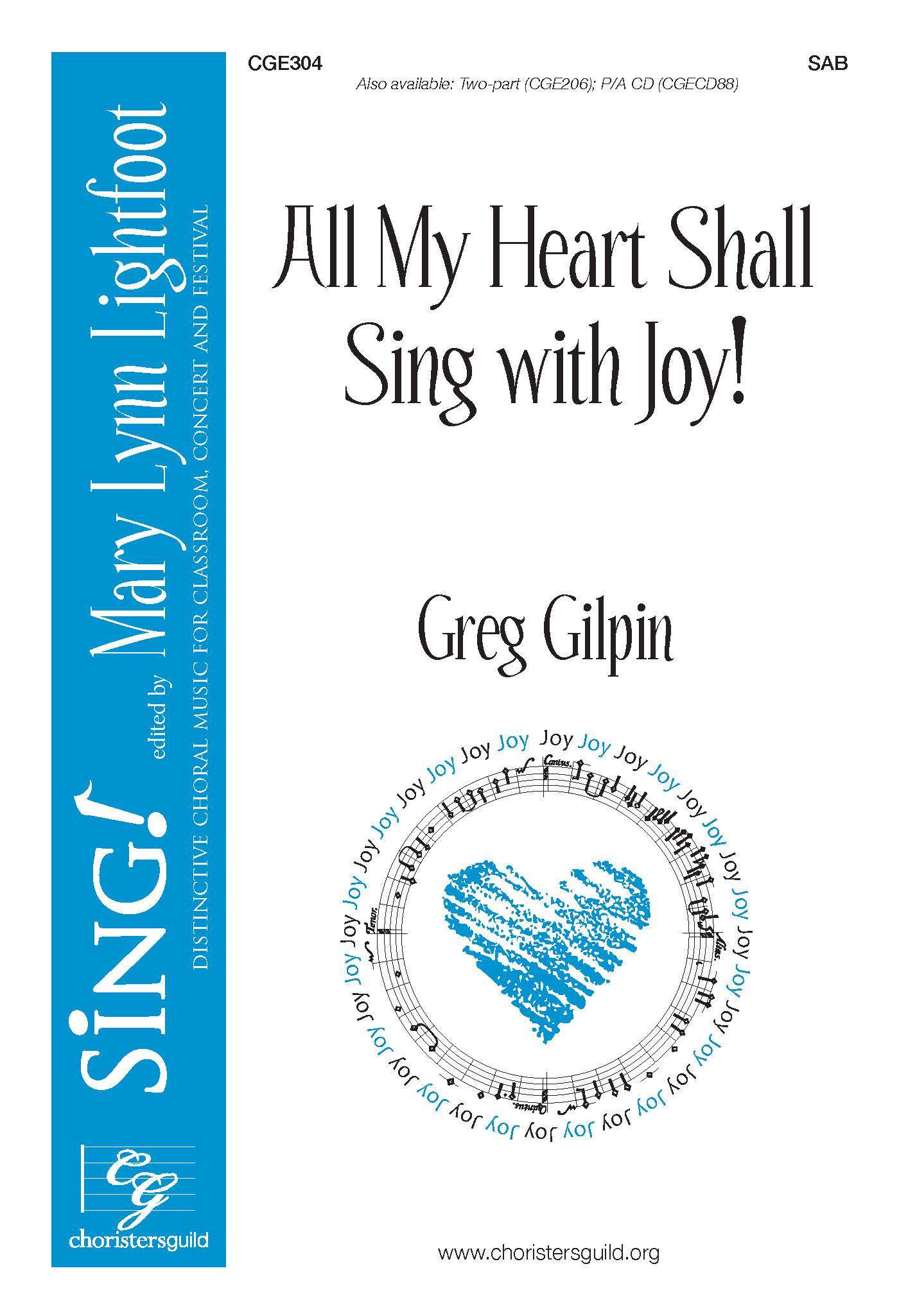 All My Heart Shall Sing with Joy! - SAB