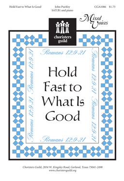 Hold Fast to What Is Good (Audio Download)