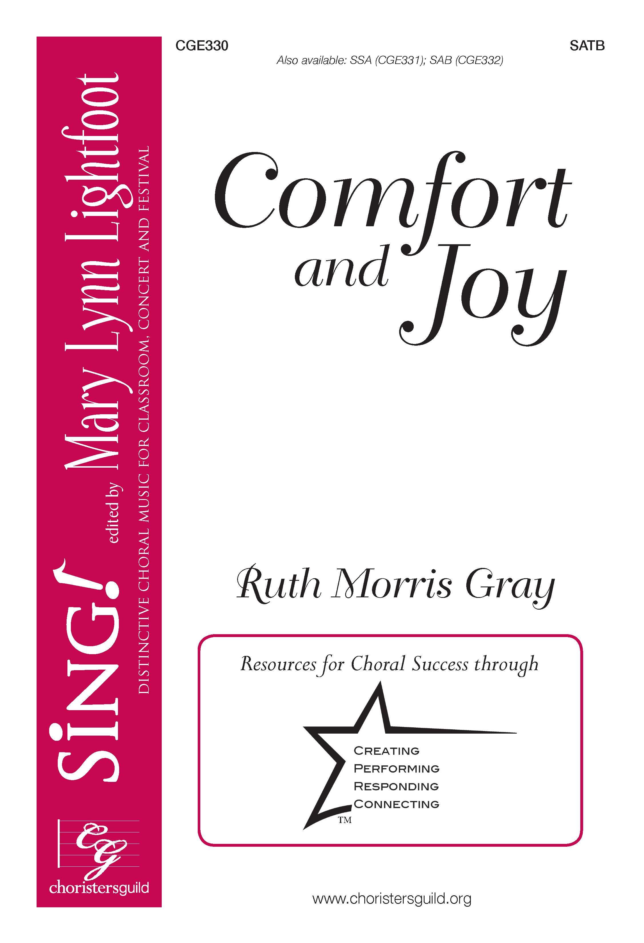 Comfort and Joy - SATB