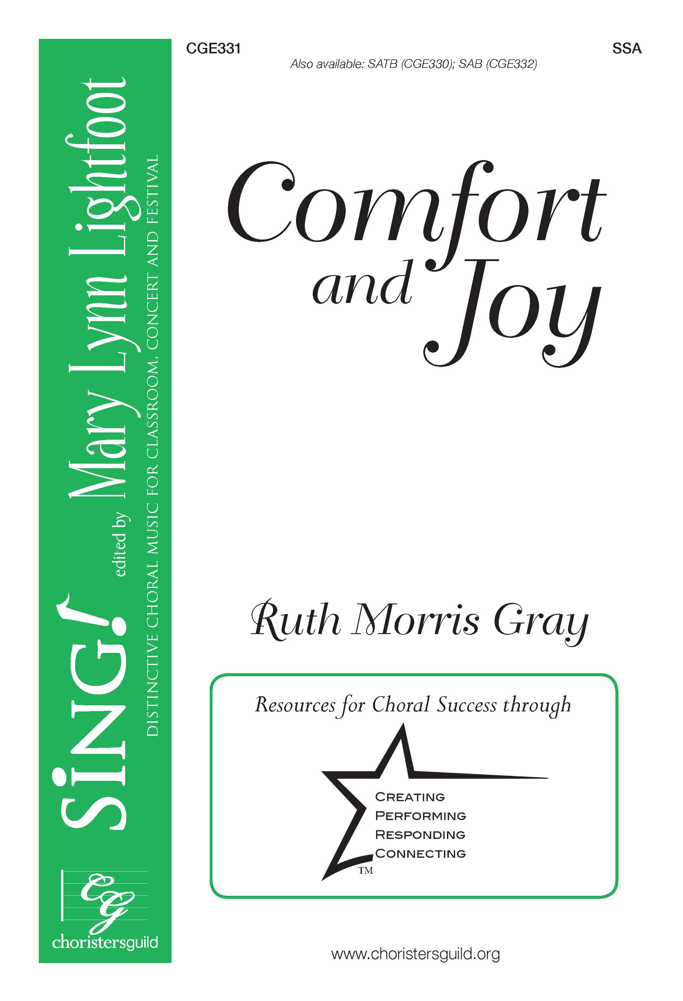 Comfort and Joy - SSA