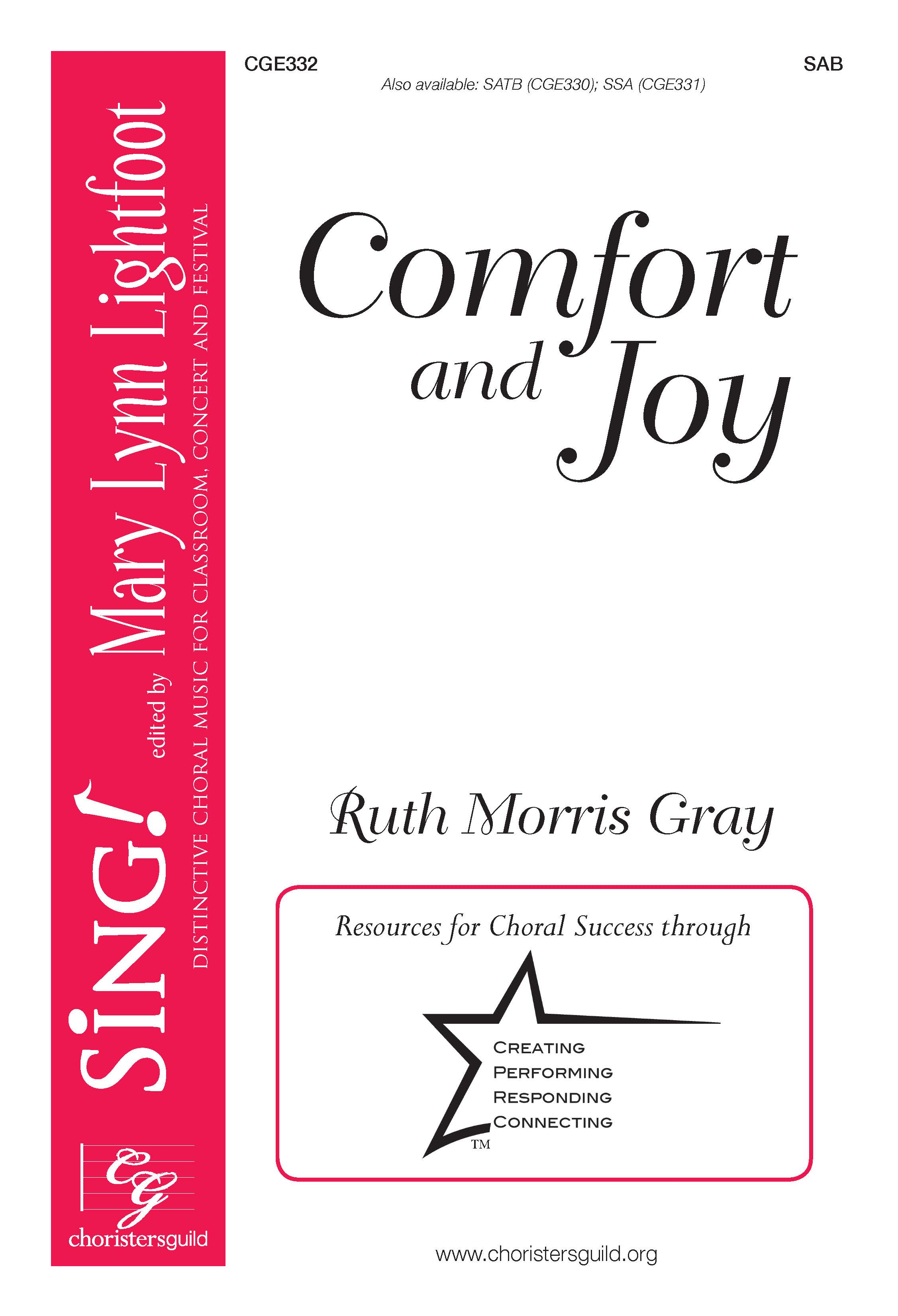 Comfort and Joy - SAB