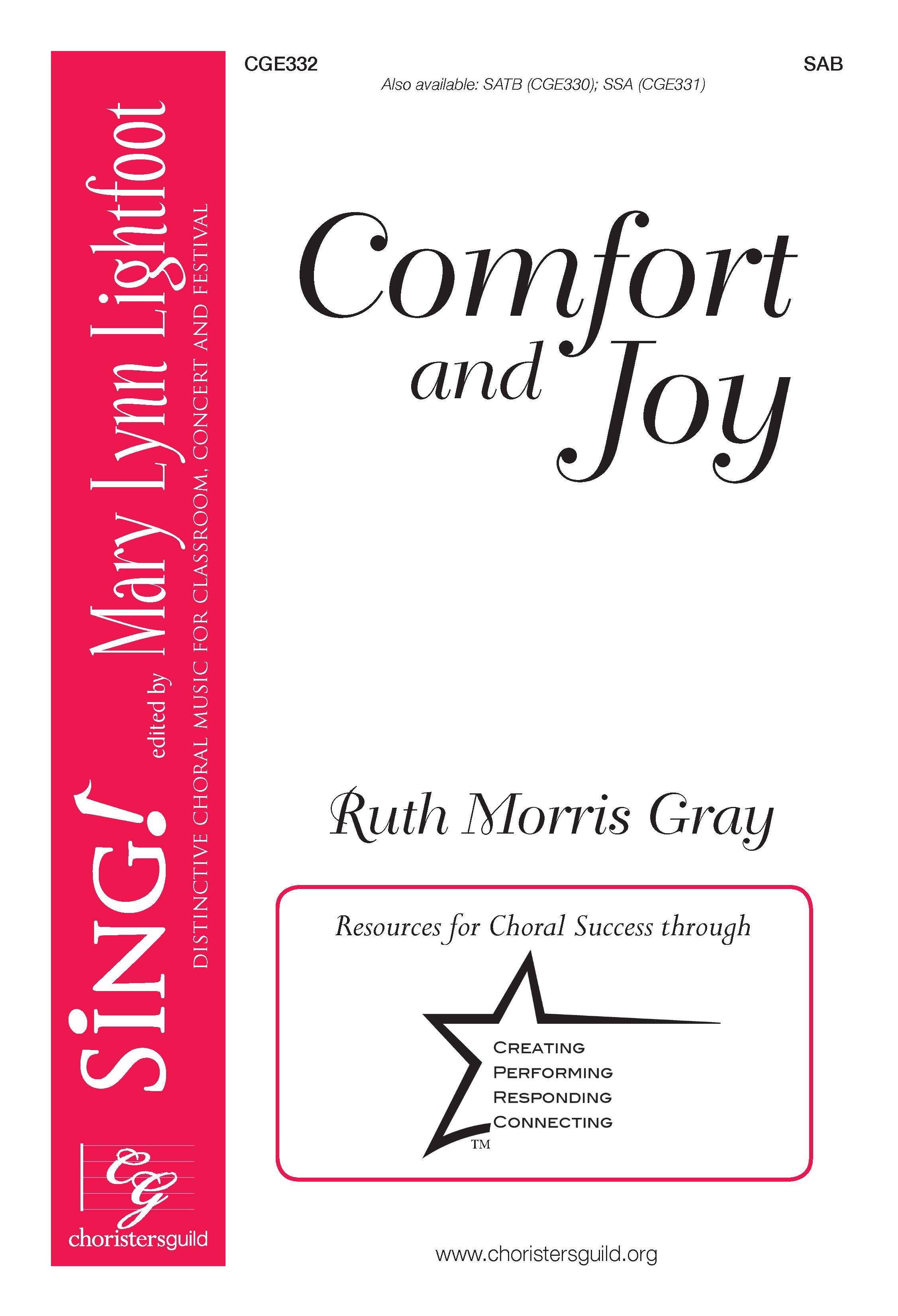 Comfort and Joy - SAB