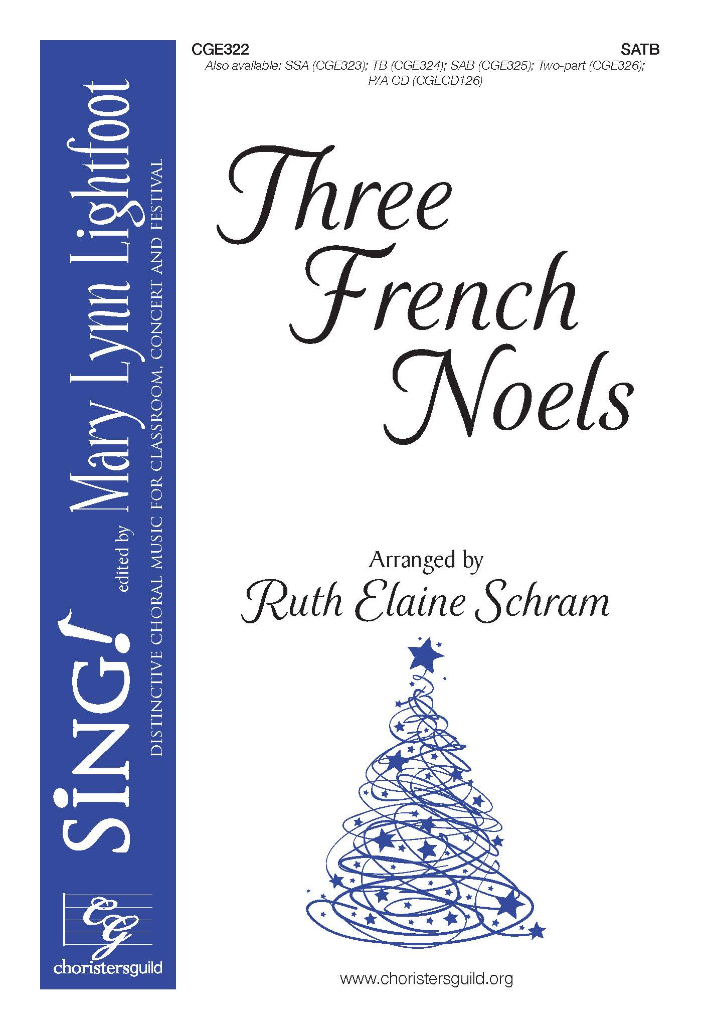 Three French Noels - SATB