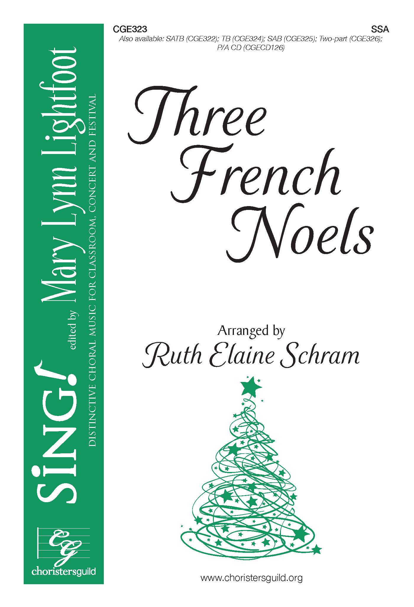 Three French Noels - SSA