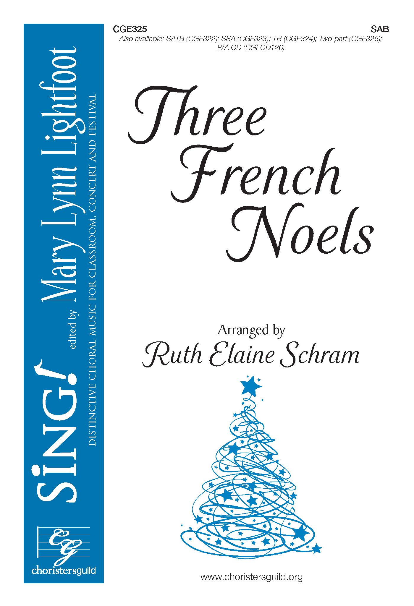 Three French Noels - SAB
