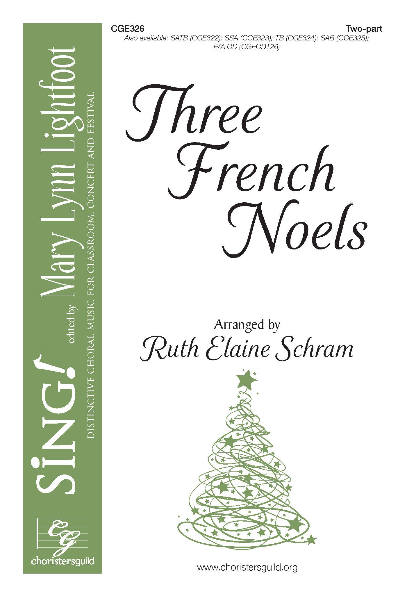 Three French Noels - Two-part