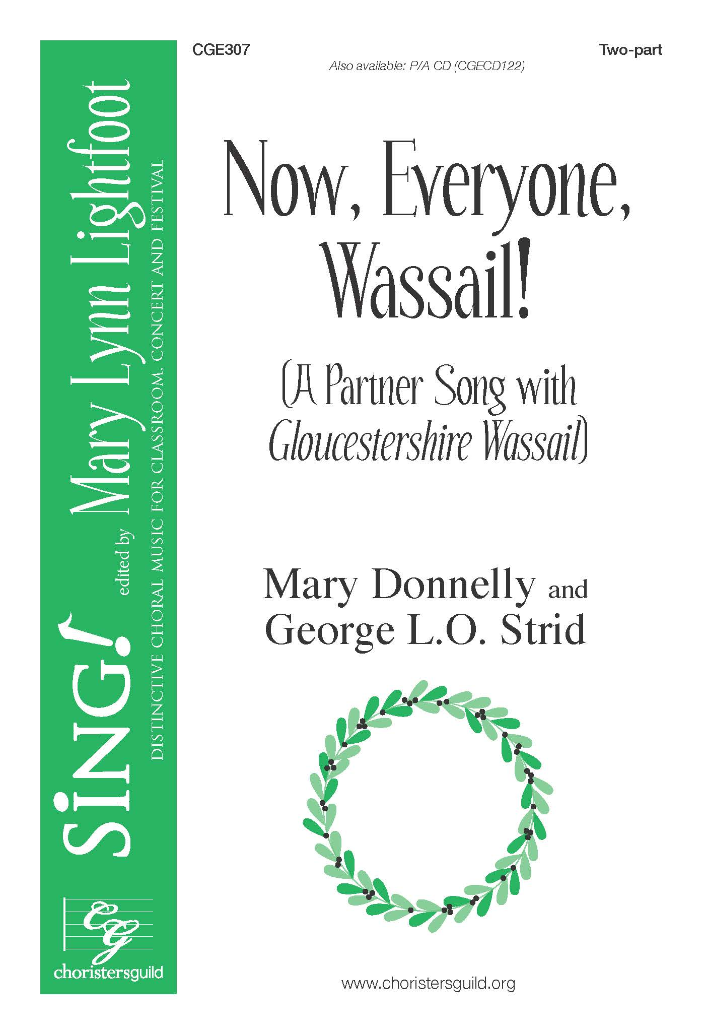 Now, Everyone, Wassail! - Two-part