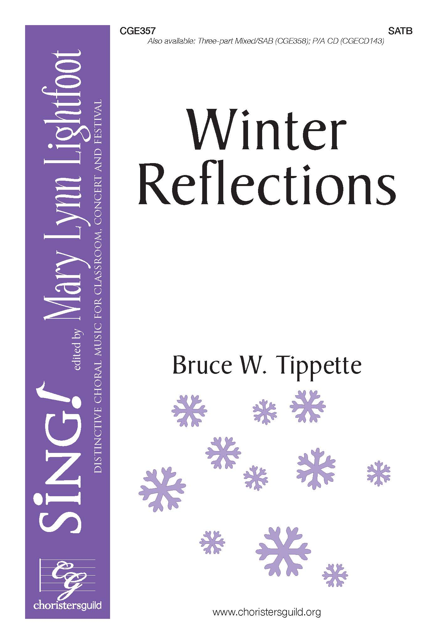 Winter Reflections - SATB