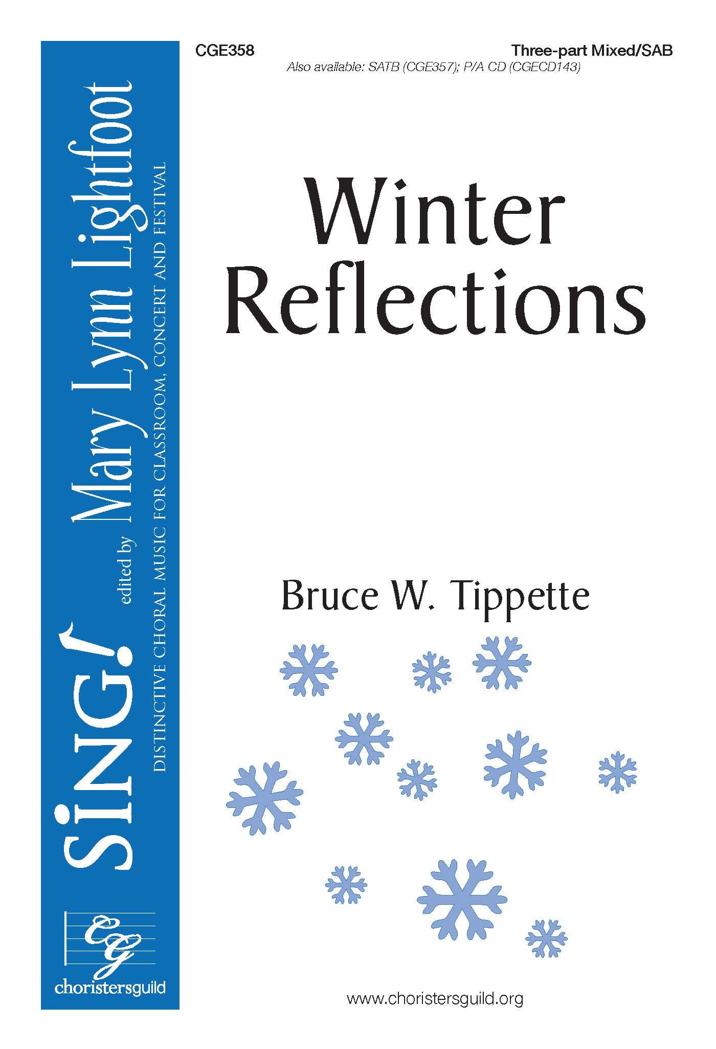 Winter Reflections - Three-part Mixed/SAB
