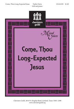 Come, Thou Long-Expected Jesus (Audio Download)