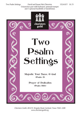 Two Psalm Settings (Audio Download)