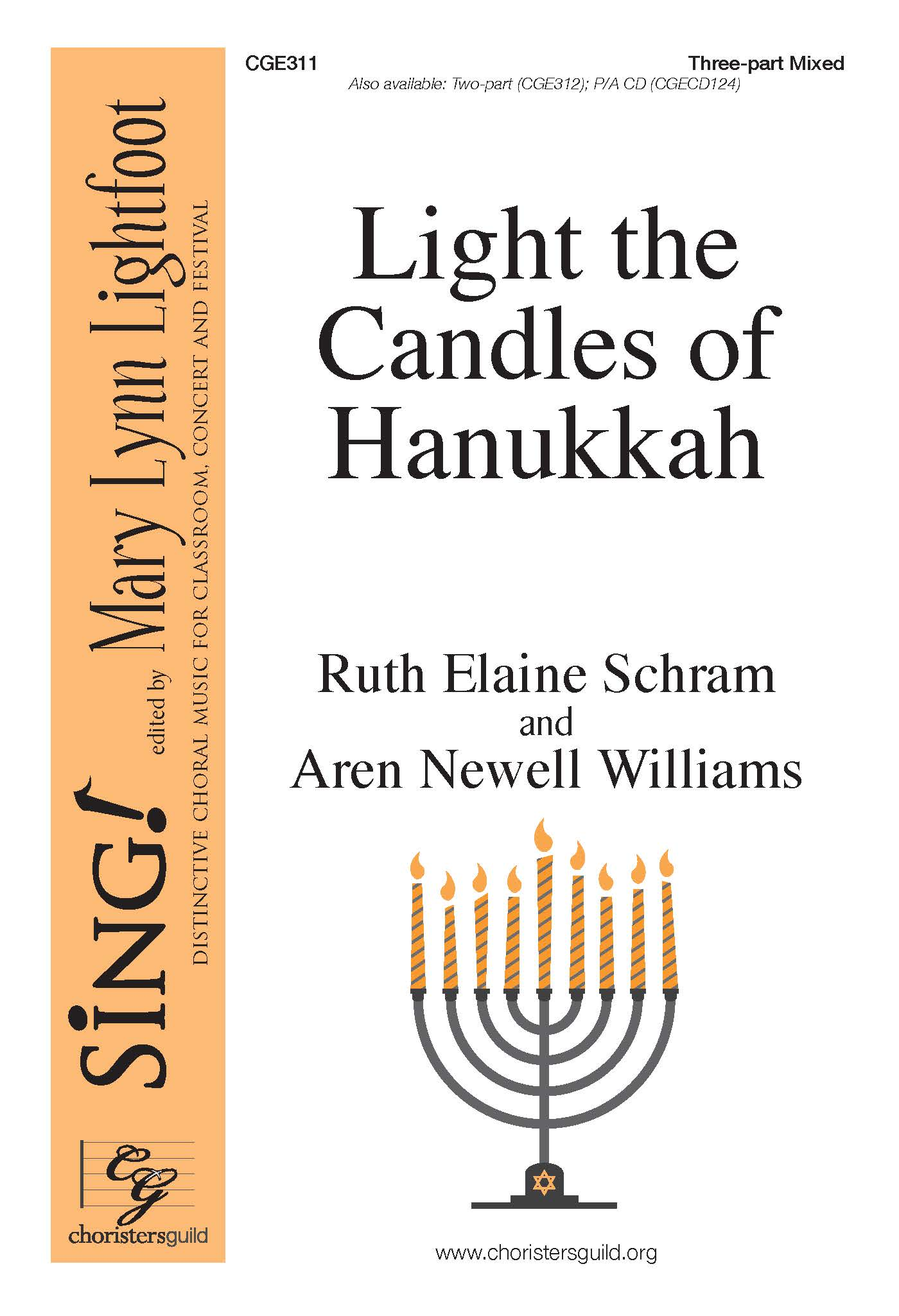 Light the Candles of Hanukkah - Three-part Mixed