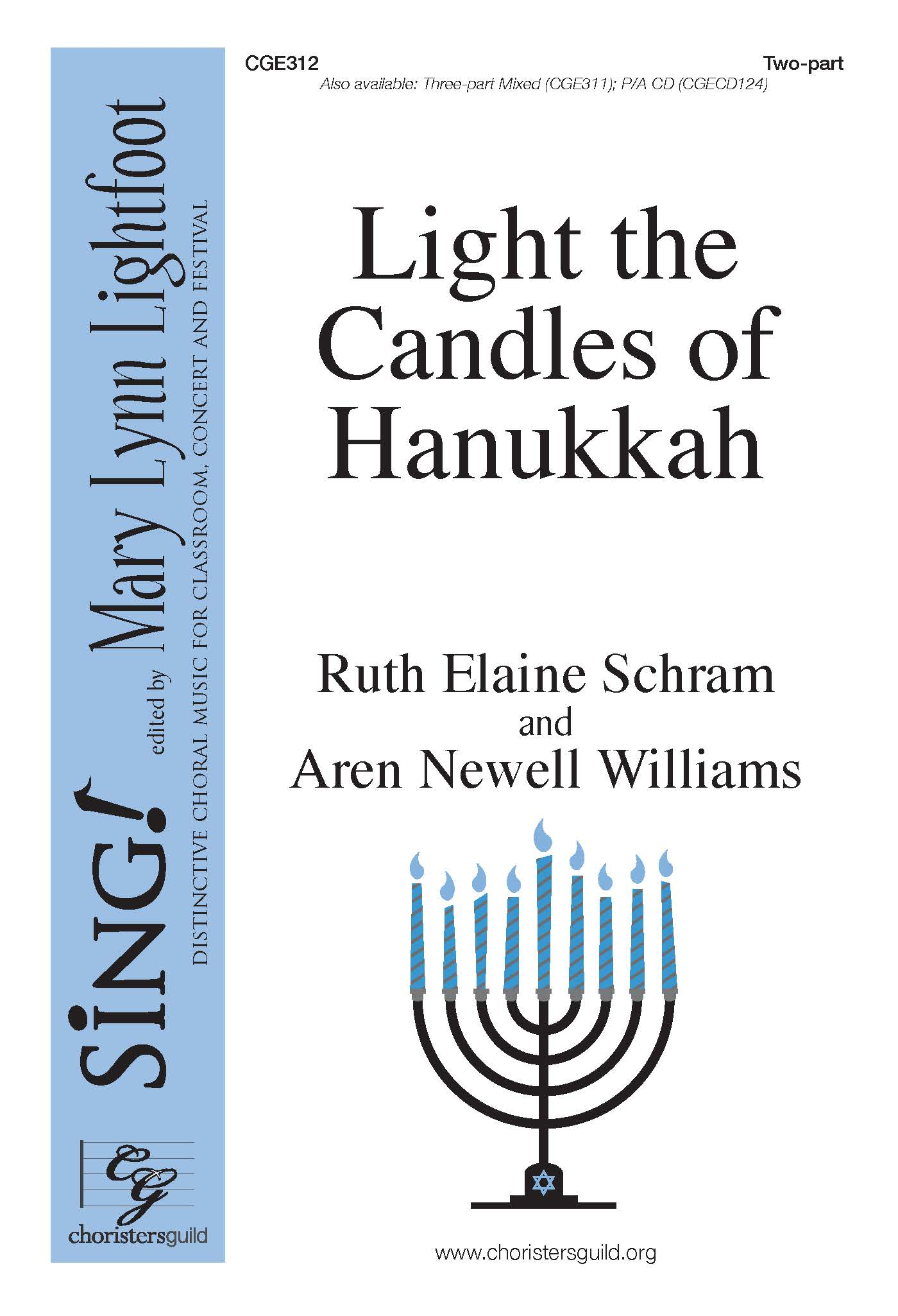 Light the Candles of Hanukkah - Two-part