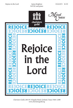 Rejoice in the Lord (Audio Download)