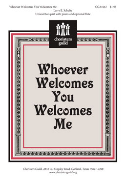 Whoever Welcomes You Welcomes Me (Audio Download)