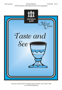 Taste and See (Audio Download)