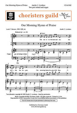 Our Morning Hymn of Praise (Audio Download)