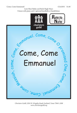 Come, Come Emmanuel (Audio Download)