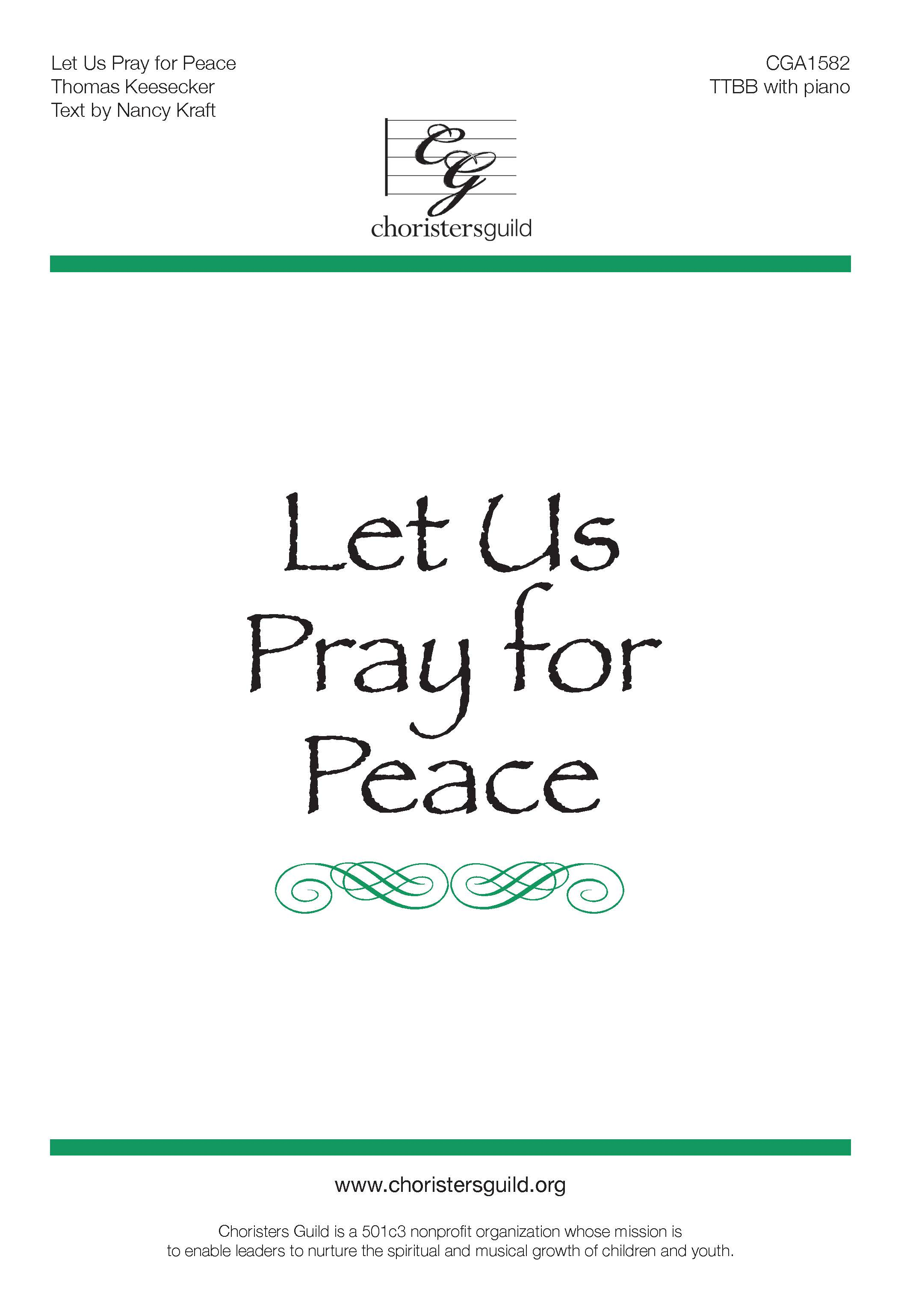 Let Us Pray for Peace (TTBB)