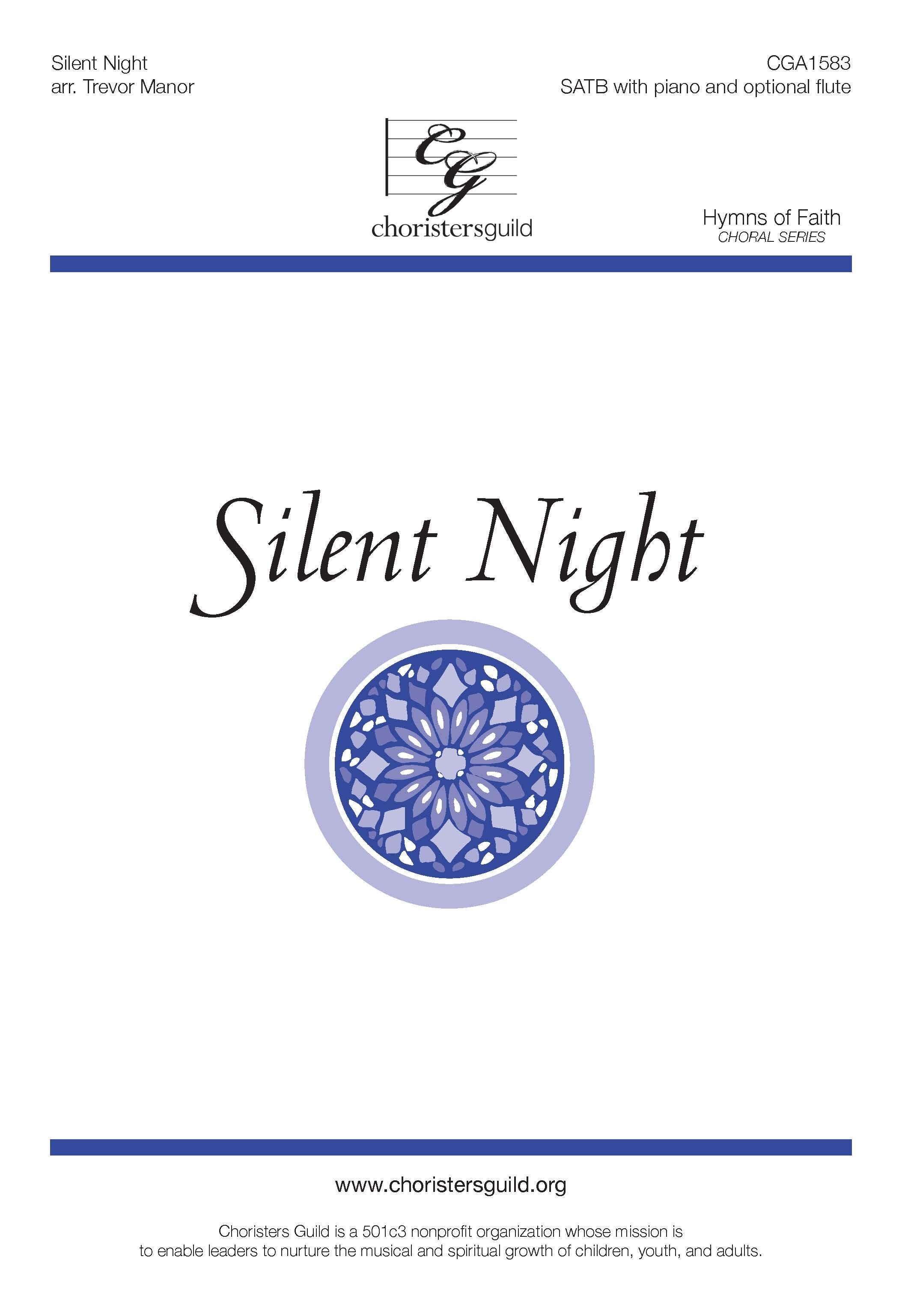 Silent Night - SATB